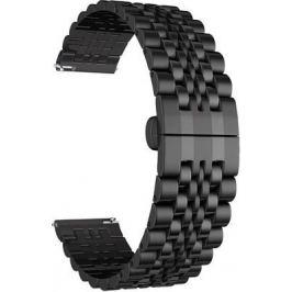Ремешок для часов Lyambda из нержавеющей стали для часов 22 mm CASTOR DSG-07-01T-22-BK Black