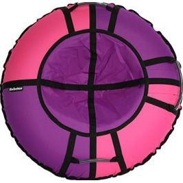 Тюбинг Hubster Хайп фиолетовый-розовый 110 см во4428-4