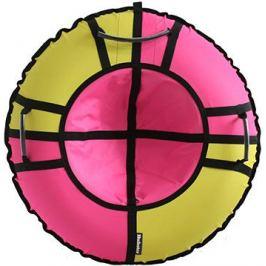 Тюбинг Hubster Хайп желтый-розовый 100 см во5656-2