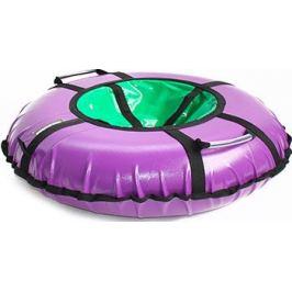 Тюбинг Hubster Ринг Хайп фиолетовый-салатовый (100см)