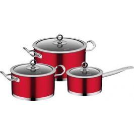 Набор посуды Nadoba CERVENA 6 пр 726518