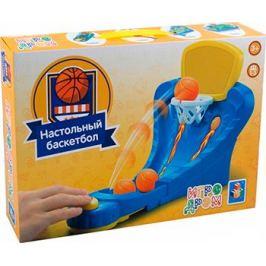 Игра настольная 1 Toy ИГРОДРОМ ''Настольный баскетбол'' Т10823