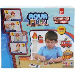 Набор для творчества 1 Toy Aqua Pixels квадрат. детали 480 дет ''Пожарная станция'' Т13071