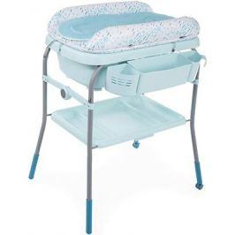 Пеленальный столик с ванночкой Chicco Cuddle & Bubble Comfort (Dusty Green)