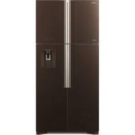 Холодильник Side by Side Hitachi R-W 662 PU7X GBW коричневое стекло
