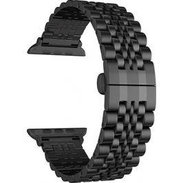 Ремешок для часов Lyambda из нержавеющей стали для Apple Watch 38/40 mm CASTOR DS-APG-04-40-BK Black