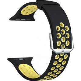 Ремешок для часов Lyambda для Apple Watch 38/40 mm ALIOTH DS-APS01-21-40-YL Black/Yellow