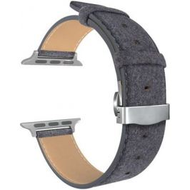 Ремешок для часов Lyambda для Apple Watch 38/40 mm MINKAR DSP-10-40 Black