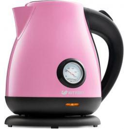 Чайник электрический Kitfort КТ-642-1 розовый