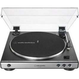 Проигрыватель виниловых дисков Audio-Technica AT-LP 60 XUSBGM ружейная сталь
