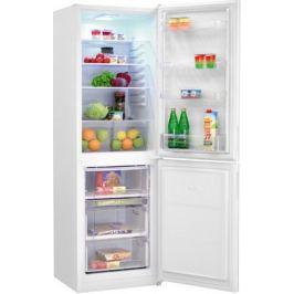 Двухкамерный холодильник NordFrost NRG 119 042 белое стекло