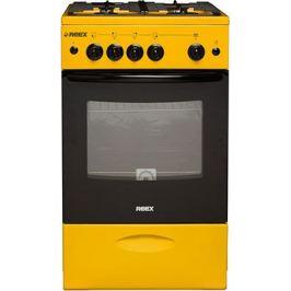 Газовая плита Reex Reex CG-54997 eYe жёлтый