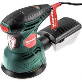 Эксцентриковая шлифовальная машина Hammer OSM260 зеленый