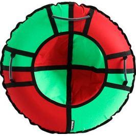 Тюбинг Hubster Хайп красный-салатовый 100 см во5618-4