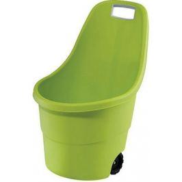Тачка садовая Keter Easy Go 55 л зеленая 17182462