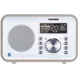 Радиочасы Telefunken TF-1581UB (белое дерево)