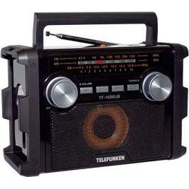 Радиоприемник Telefunken TF-1690UB (черный с серым)
