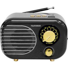Радиоприемник Telefunken TF-1682UB (черный с золотым)