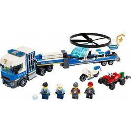 Конструктор Lego City Police Полицейский вертолётный транспорт 60244