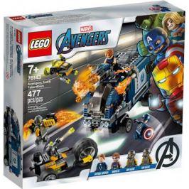 Конструктор Lego Super Heroes Мстители: Нападение на грузовик 76143
