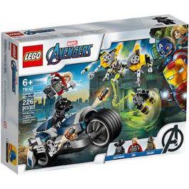 Конструктор Lego Super Heroes Мстители: Атака на спортбайке 76142