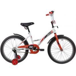 Велосипед Novatrack 20'' STRIKE белый-красный 203STRIKE.WTR20