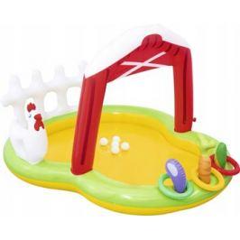 Детский игровой бассейн BestWay с фонтаном и принадл. Ферма 175х147х102 121 л от 2 лет 53065 BW
