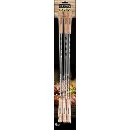 Шампуры Ecos с деревянными ручками 23021D (набор из 6 штук) нерж. 999629